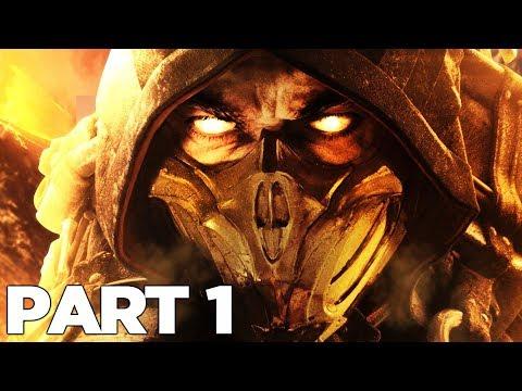MORTAL KOMBAT 11 STORY MODE Walkthrough Gameplay Part 1 - INTRO (MK11)