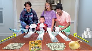 DON'T SPILL THE WATER Challenge (FV Family #Shorts)