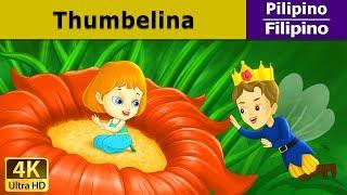 Si Thumbelina   Kwentong Pambata   Mga Kwentong Pambata   4K UHD   Filipino Fairy Tales