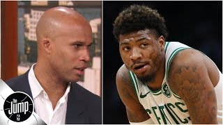 Richard Jefferson reveals the trash talk he'd use to 'poison' the 2019 Celtics | The Jump