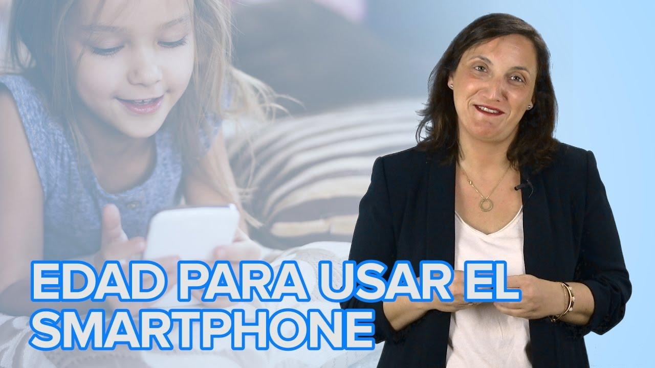 A qué edad podemos dejar un smartphone o una tablet a un niño