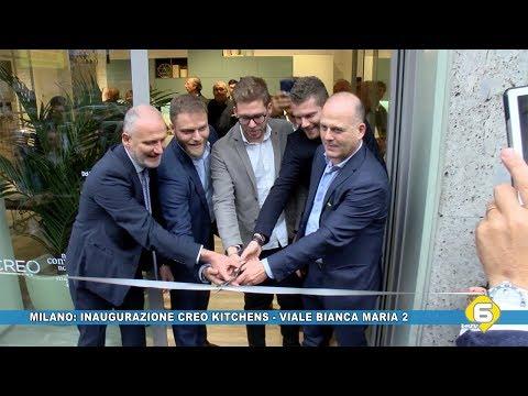 Il gruppo Lube inaugura lo store Creo Kitchens Milano