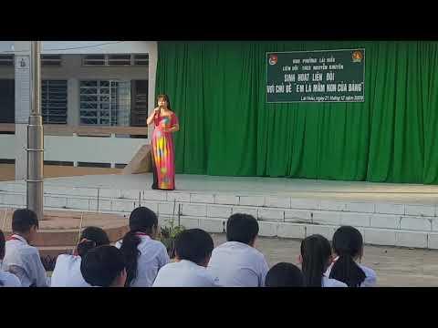 THCS Nguyễn Khuyến- Tàu anh qua núi (cô Thùy Dương)