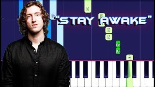 Dean Lewis   Stay Awake Piano Tutorial EASY (Piano Cover)