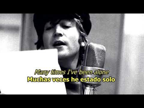 The long and winding road - The Beatles (LYRICS/LETRA) [Original]