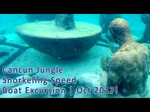 Cancun Jungle Snorkeling Speed Boat Excursion – Oct 2017
