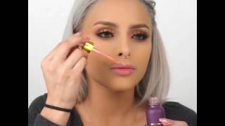Makeup Tutorial by Isabel Bedoya in Farsalicare Unicorn Tears