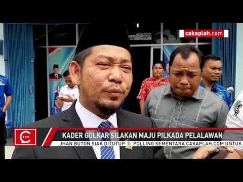 [VIDEO] Kader Golkar Berebut Maju Pilkada Pelalawan, Adi Sukemi: Jangan Saling Menjelekkan