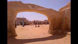 """Тунис. Поездка на планету Татуин. Декорации к """"Звёздным Войнам"""""""