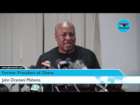 Greedy Bastards: NDC infiltrated by self-seeking opportunists – Mahama