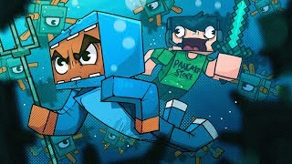 OCEAN MONUMENTS ARE TOO DANGEROUS! - Minecraft!