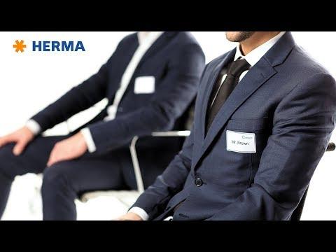 Namensetiketten & Textilaufkleber von HERMA