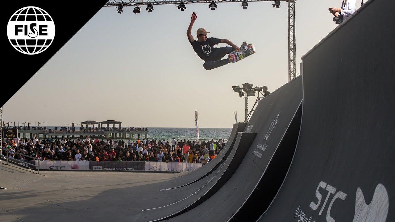 Joseph Garbaccio | 1st Skateboard Street Pro Final - FISE Jeddah 2018 - FISE