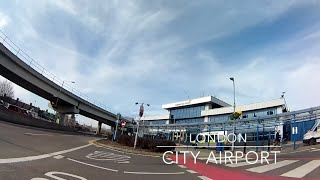 preview picture of video 'London City Airport http://www.londoncityairport.com UK'