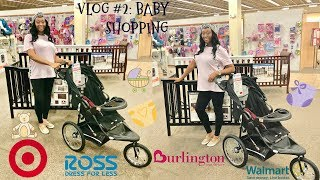 SHOPPING FOR BABY CLOTHES| PREGNANCY VLOG| TIERRA SHONTIA