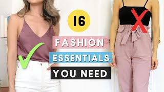 16 Closet Essentials EVERY Girl Should Own! **Ultimate Guide**