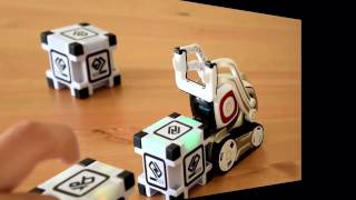Cozmo robot loses it after playing quick tap!