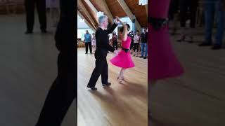 Central Jersey Dance Society Pure Ballroom dance Samba lesson with Emily Tang 9 23 17