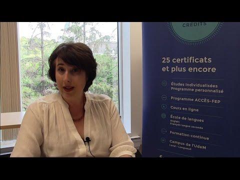 Certificat d'études individualisées