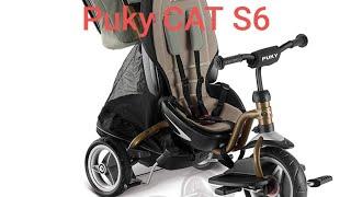 Puky CAT S6 . Обзор детского трёхколёсного велосипеда.