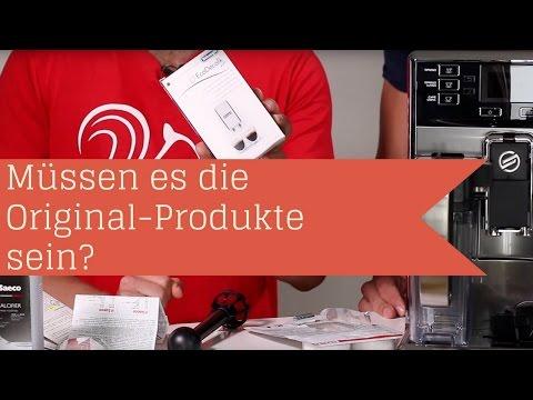 Reinigungstabletten & Entkalker müssen es die Originale vom Hersteller sein? | Kaffeevollautomat