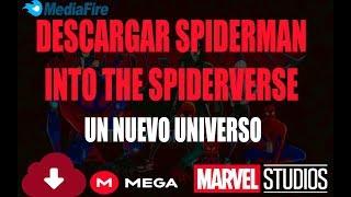 Descargar SPIDERMAN Into the Spider verse ( un nuevo universo ) Full HD 1080p