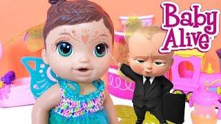 КУКЛА ПУПСИК Беби Элайв - ФЕЯ! Baby Alive Fairy Видео для Девочек ✿Играем в Дочки Матери
