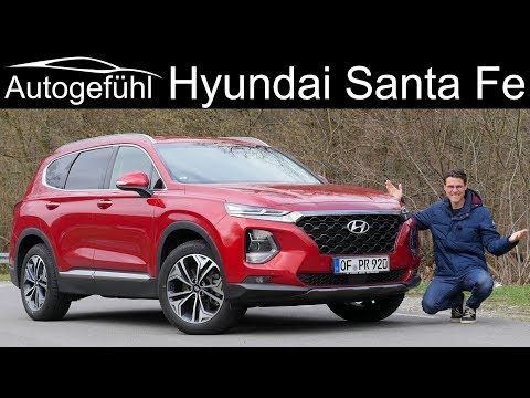 Hyundai Santa Fe FULL REVIEW 2020 - Autogefühl