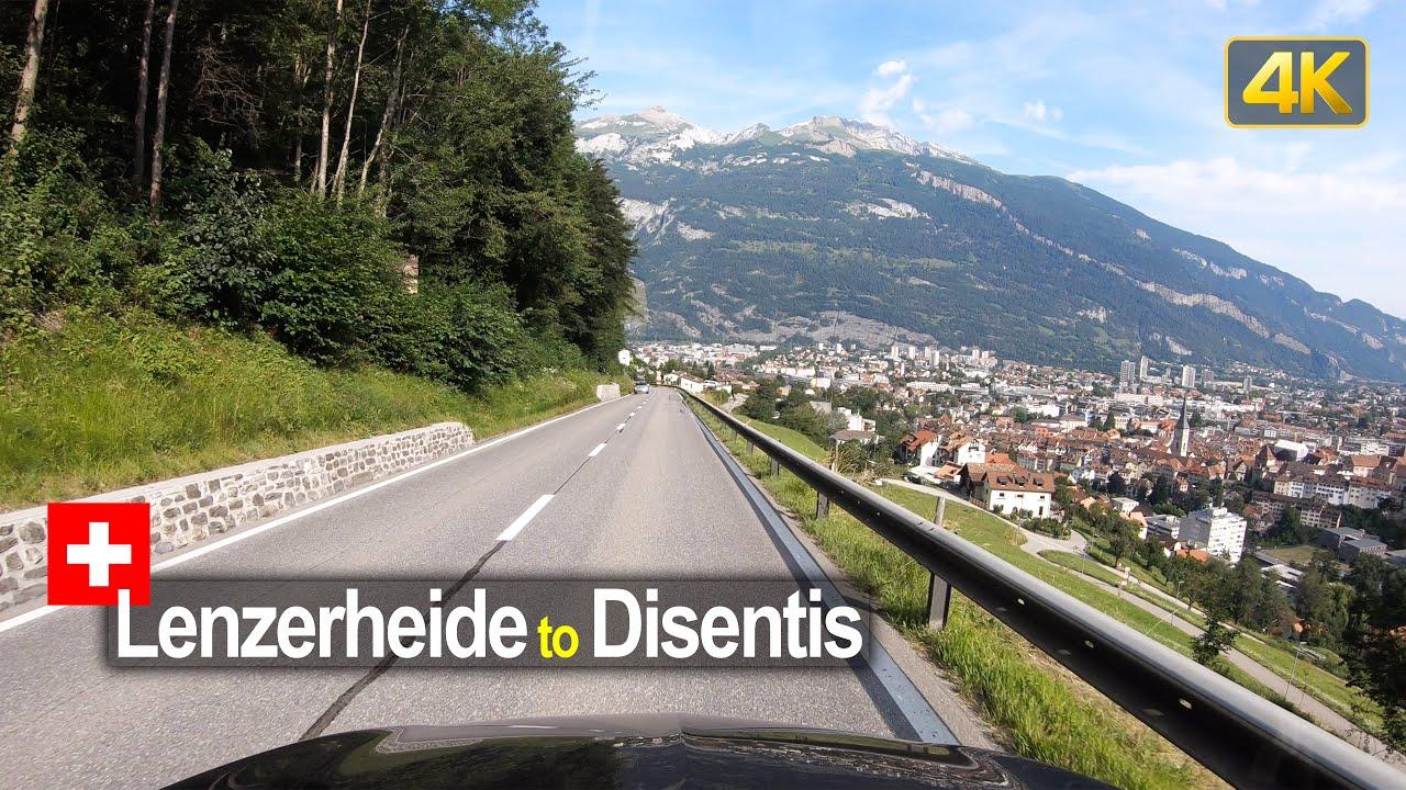 Driving from Lenzerheide to Disentis – Scenic Drive Switzerland!