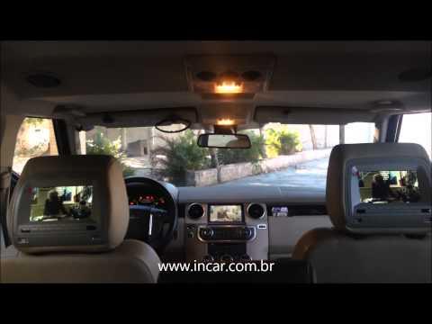 Central multimídia Land Rover Discovery 4 INCAR BRASIL