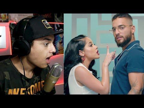 Reaccion Becky G Maluma La Respuesta Official Video Themaxready