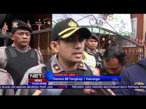 Densus 88 Kembali Tangkap Terduga Teroris di Tasikmalaya - NET 16