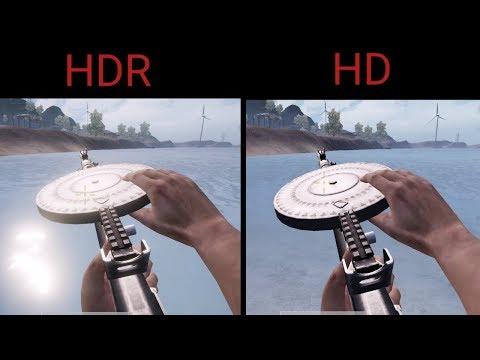 PUBG MOBILE - HD VS HDR [REALISTIC SETTINGS] | FULL FPP-FPS GRAPHICS  COMPARISON - Major Alex Gaming