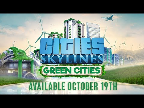 Cities: Skylines - Green Cities - Release October 19th thumbnail