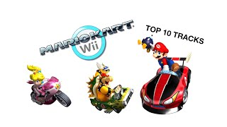 Top 10 Mario Kart Wii Tracks (with Szymon BLOX)