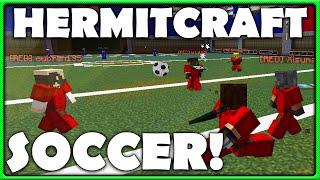 Minecraft Soccer - Team Hermitcraft Vs The World!