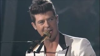 Robin Thicke & Alexis Foster: You're All I Need to Get By (Coaching + Performance)