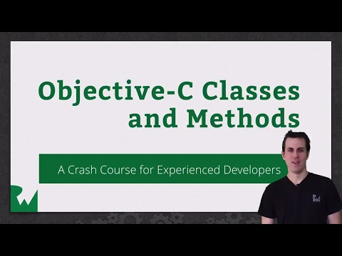 Beginning Objective-C Classes and Methods – raywenderlich.com