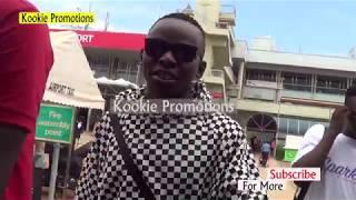 John Blaq Akomyewo Okuva E' Uk N'asuubiza Bannayuganda.