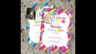 Cute ideas for baby shower invitations