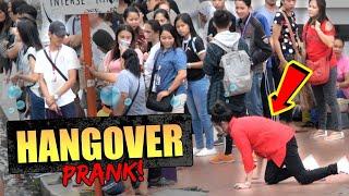 Hangover Prank