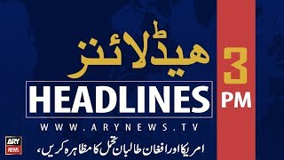 Headlines | Pakistan To Hold Talks With FATF In Bangkok Today | 3 PM | 9 Sep 2019