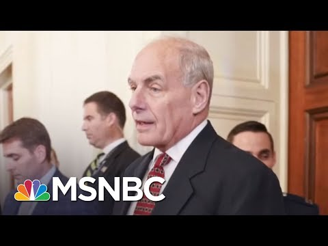 Is Donald Trump Looking To Replace Chief Of Staff John Kelly? | The 11th Hour | MSNBC