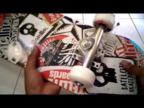 REVIEW Skateboard Silverfox Sattelite Canadian Maple (Indo)