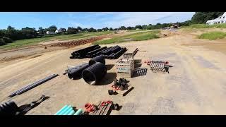 BetaFlight Pavo 30 SMO 4K FPV drone construction site flight