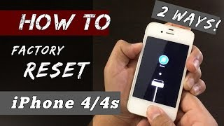 HOW to Hard Reset iPhone 4/4S [Works in 2021]