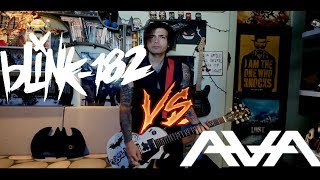 blink-182 VS Angels And Airwaves - The Adventure [CALIFORNIA Style] cover by SymonIero