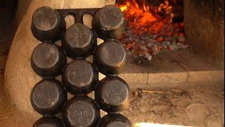 Odbudowa żeliwa i konserwacja narzędzi | Tłuszcz z niedźwiedzia i wosk pszczeli