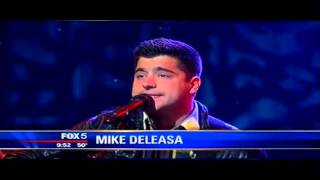 "Deleasa, Mikey Deleasa Performing Too Damn Beautiful In ""Good Morning New York"""