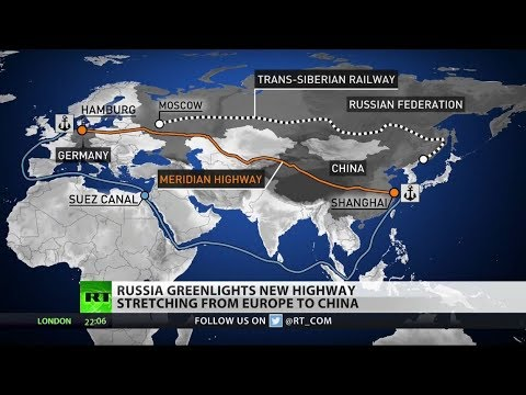 Russia To Build New China Silk Road